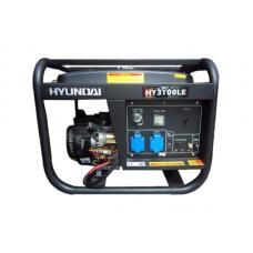 Máy phát điện chạy xăng đề nổ Huyndai HY3100LE (2,5 - 2,8 KW)